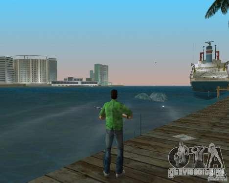 Новая вода, газеты, листья, луна для GTA Vice City второй скриншот