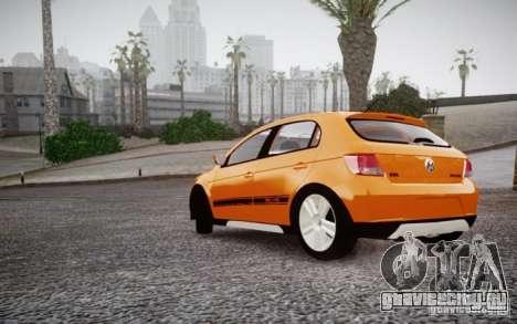 Volkswagen Gol Rallye 2012 для GTA 4 вид справа