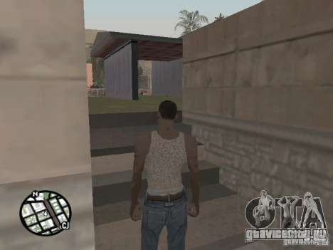 Новая майка Карла для GTA San Andreas второй скриншот