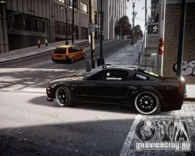 Ford Mustang GT Lowlife для GTA 4 вид сзади слева