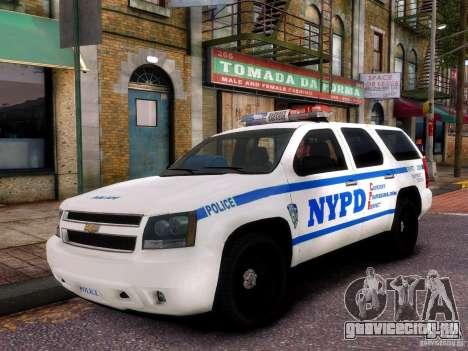Chevrolet Tahoe New York Police для GTA 4