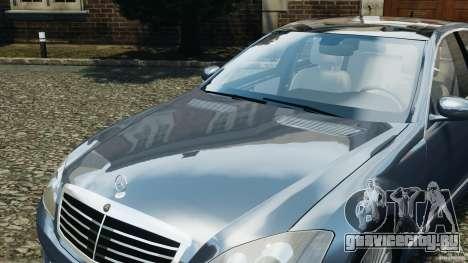 Mercedes-Benz W221 S500 2006 для GTA 4 колёса