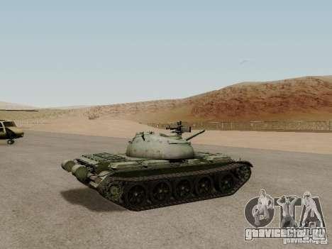 Type 59 для GTA San Andreas вид сзади слева