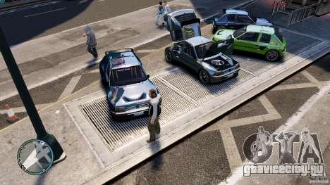 Peugeot 205 для GTA 4 вид сбоку