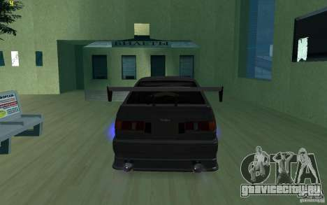 Тойота Королла для GTA San Andreas вид сзади слева
