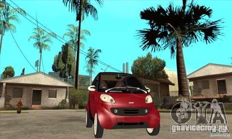 Smart для GTA San Andreas вид изнутри