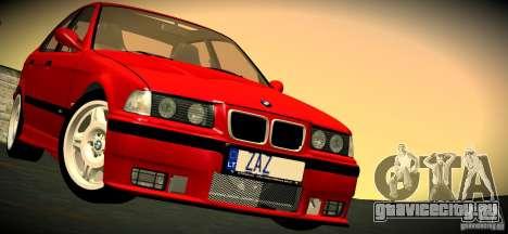 BMW  M3 Е36 для GTA San Andreas салон