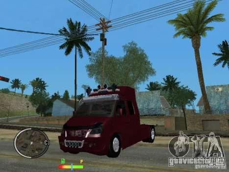 ГАЗель 2705 для GTA San Andreas вид справа