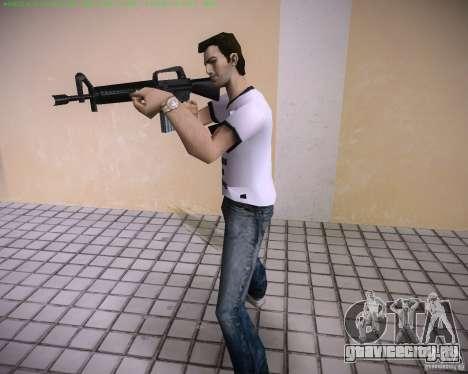 Новая М4 для GTA Vice City четвёртый скриншот