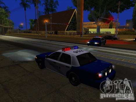 Ford Crown Victoria Belling State Washington для GTA San Andreas двигатель