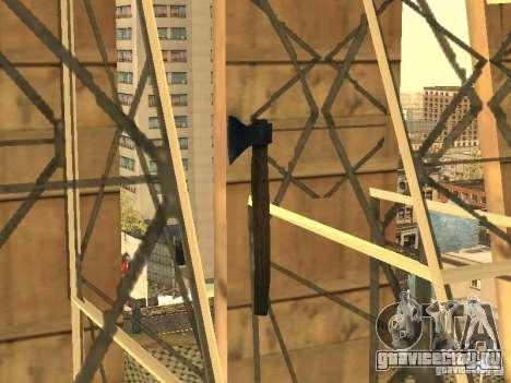 Топор для GTA San Andreas второй скриншот