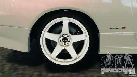 Nissan Silvia S15 Drift для GTA 4 вид сверху