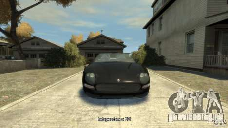 Maserati Spyder Cambiocorsa для GTA 4