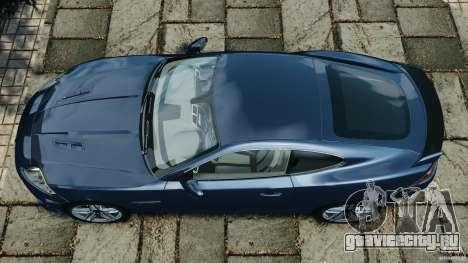 Jaguar XKR-S Trinity Edition 2012 v1.1 для GTA 4 вид справа