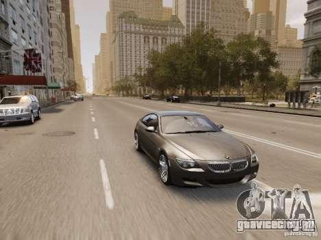 BMW M6 2010 для GTA 4 салон