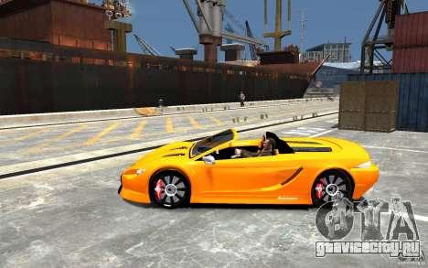 K1 Attack Concept для GTA 4 вид слева