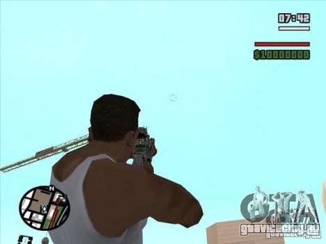M4 из S.T.A.L.K.E.R.a для GTA San Andreas третий скриншот