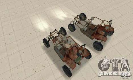 Half-Life Buggy для GTA San Andreas вид справа