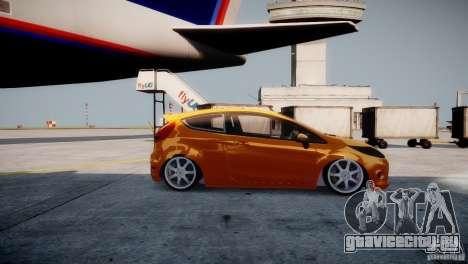Ford Fiesta 2012 для GTA 4 вид сзади