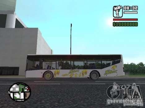 ЛАЗ ИнтерЛАЗ 12 для GTA San Andreas вид справа