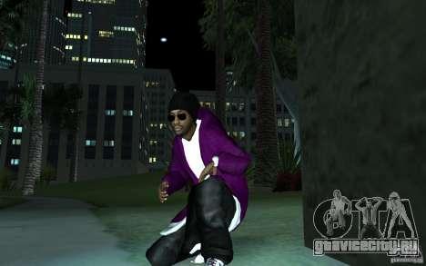 New Ballas для GTA San Andreas второй скриншот