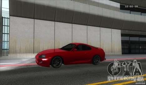 Toyota Supra Stance для GTA San Andreas вид слева
