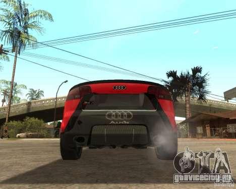 Audi RS4 Grip для GTA San Andreas вид сзади слева