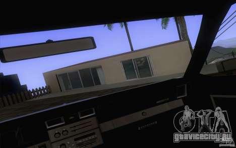 Chevrolet Caprice Clasico для GTA San Andreas вид сзади