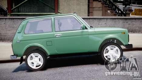 ВАЗ-21214 Нива (Lada 4x4) для GTA 4 вид сверху