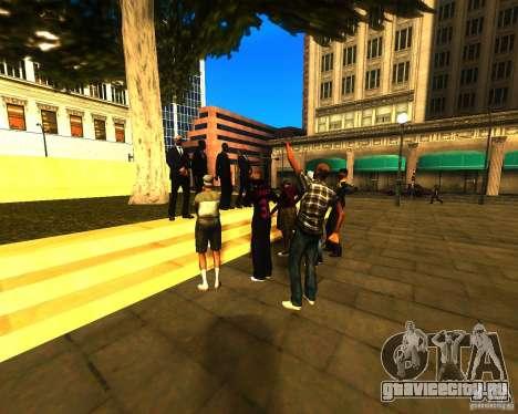 Обращение мэра к жителям штата для GTA San Andreas