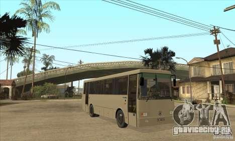 ЛАЗ 42078 (Лайнер-10) для GTA San Andreas вид сзади