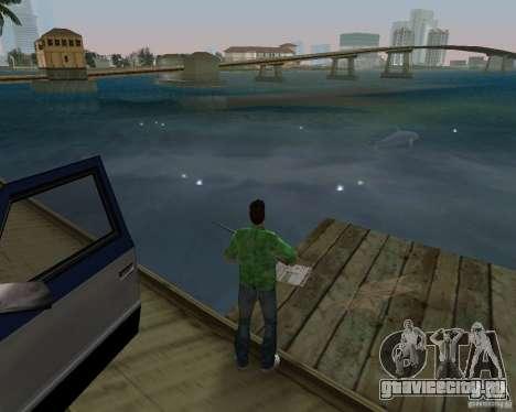 Новая вода, газеты, листья, луна для GTA Vice City девятый скриншот
