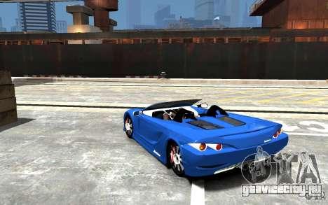 K1 Attack Concept для GTA 4 вид сзади слева