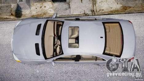 Mercedes-Benz S-Class 2007 для GTA 4 двигатель
