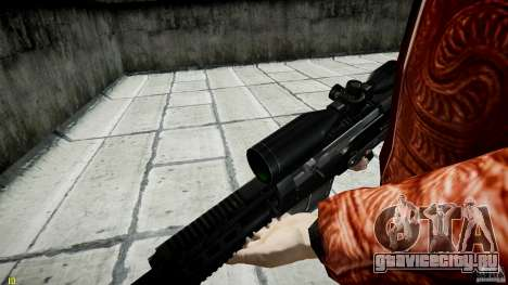 Accuracy International AS50 для GTA 4 восьмой скриншот