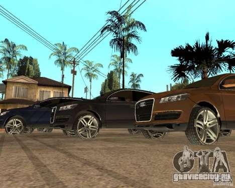 Audi Q7 4.2 FSI для GTA San Andreas вид слева
