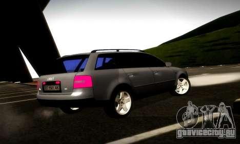 Audi A6 C5 Avant 3.0 для GTA San Andreas вид справа