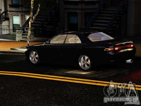 Toyota MARK II 1990 для GTA 4 вид справа