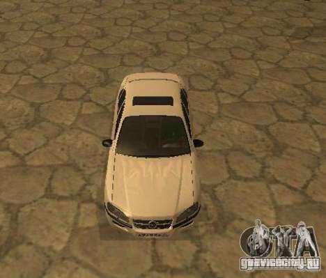 Opel Omega B 1997 для GTA San Andreas вид слева