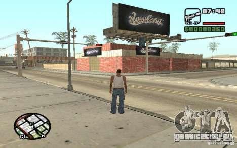 West Coast Customs Покрасочная для GTA San Andreas