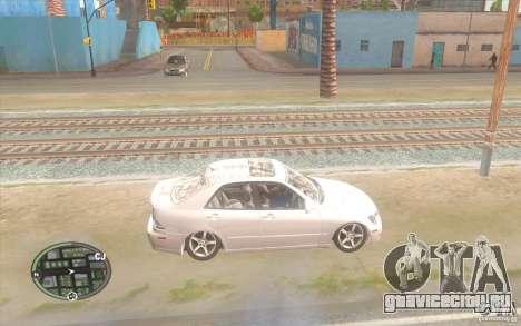 Lexus IS300 Light Tuning для GTA San Andreas вид слева