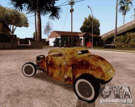 Ford Rat Rod для GTA San Andreas вид сзади
