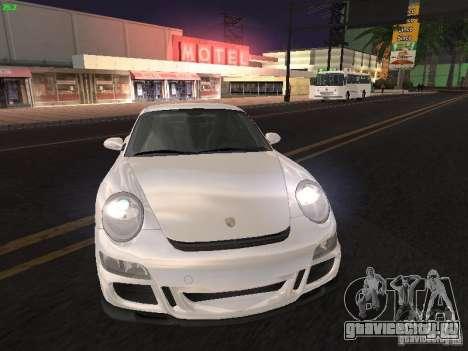 Porsche 911 GT3 для GTA San Andreas вид сзади слева