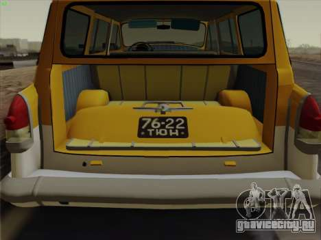 ГАЗ 22 для GTA San Andreas колёса