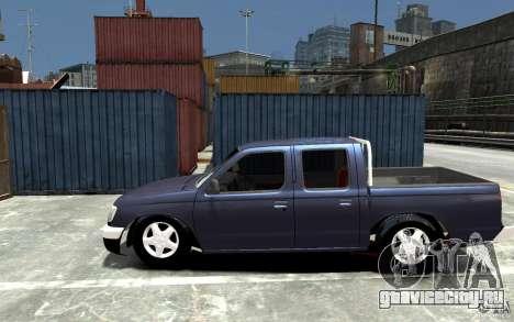 Nissan Pickup V 2005 для GTA 4 вид слева