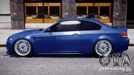 BMW M3 Hamann E92 для GTA 4 вид сзади слева