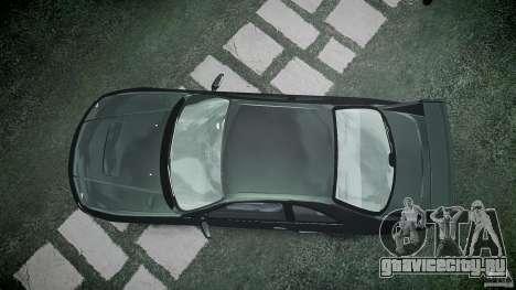 Nissan Skyline R33 для GTA 4 вид сверху