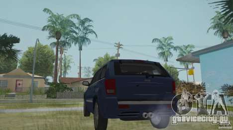 Jeep Grand Cherokee SRT8 2009 для GTA San Andreas вид слева