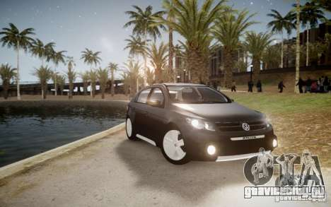 Volkswagen Gol Rallye 2012 для GTA 4