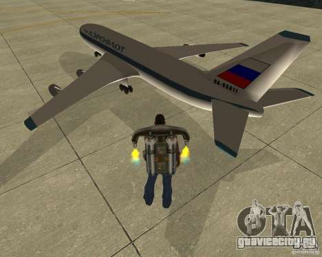 Ил-86 для GTA San Andreas вид слева